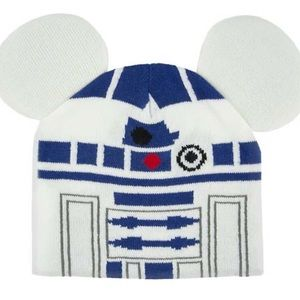 Disney Hat / Beanie Hat With Ears R2-D2 Youth
